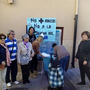 Ciudadanos Almansa conoce la problemática de la Plataforma por el Agua Pública