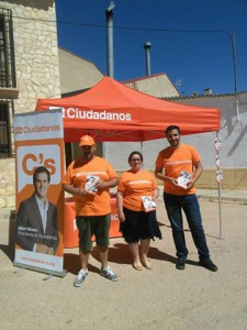 Carpa Informativa Tarazona. Cs Team