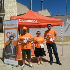 El equipo de voluntarios en Tarazona