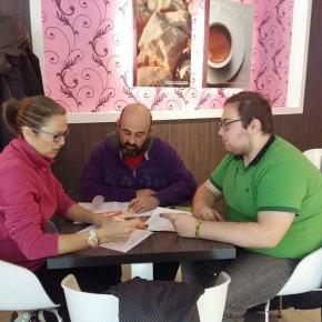 Reunión del equipo de trabajo de Cs La Roda
