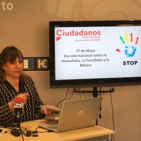 Ciudadanos defiende la diversidad sexual y pide mayor contundencia contra las situaciones de discriminación