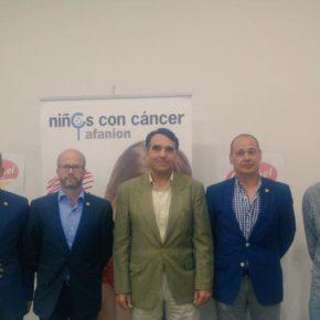 Cs Albacete asiste a la presentación del 'Campamento de Verano' de AFANION