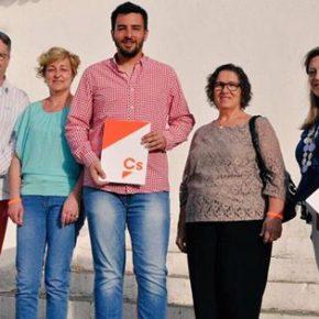 La agrupación de Ciudadanos Tarazona presenta su nueva Junta Directiva