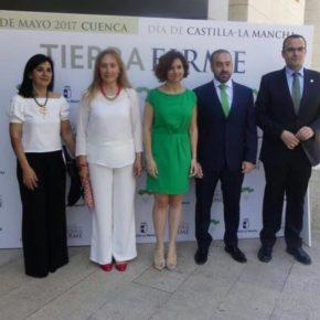 Cs Albacete asiste al acto institucional del Día de CLM