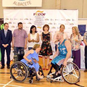 Cs Albacete participa en la entrega de trofeos de la Final Four de baloncesto en silla de ruedas