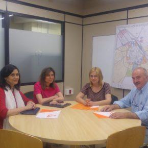 Cs Albacete se reúne con el Colegio de Arquitectos