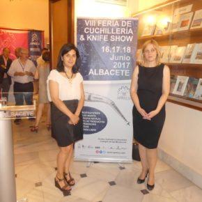 Picazo: 'La cuchillería representa para Albacete no solo un elemento de tradición, sino una industria con presente y futuro'