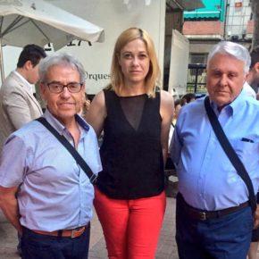 Carmen Picazo, en las Fiestas del barrio de Parque Sur