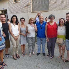 Francis Rubio asiste al pregón del barrio Pedro LaMata