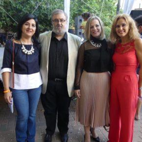 Francis Rubio asiste al pregón del barrio San Pablo