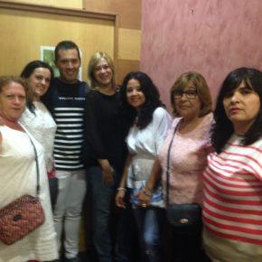 Picazo comparte con los vecinos del barrio Carretas el inicio de sus fiestas