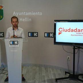 Ciudadanos propone homenajear a Armando García, el joven hellinero fallecido en el derrumbe de una sauna iglú