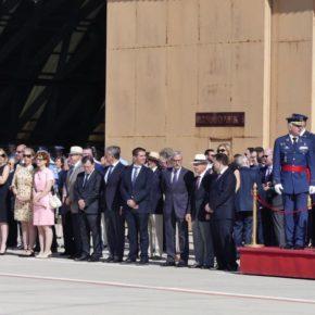 Cs Albacete asiste a la toma de posesión del nuevo Jefe de la Base Aérea de Los Llanos