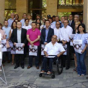 Cs Albacete participa en el minuto de silencio de silencio en recuerdo de Miguel Ángel Blanco
