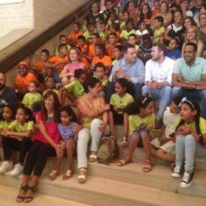 Ciudadanos recibe a los 61 ñiños saharauis que pasarán el verano en Albacete
