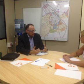 Cs Albacete se reúne con el representante institucional de Mercadona en CLM