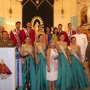 Francis Rubio y Agapita García, en las Fiestas de Chinchilla
