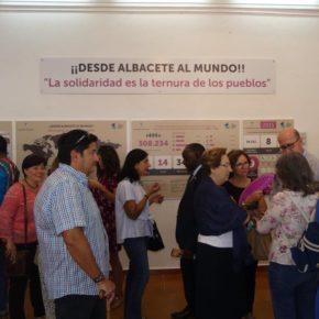 Rubio visita la exposición ´Desde Albacete al Mundo´'