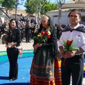 Los concejales de Ciudadanos asisten a la ofrenda floral y destacan el valor de las tradiciones de Albacete