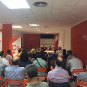 Reunión de la agrupación de Ciudadanos Albacete Ciudad