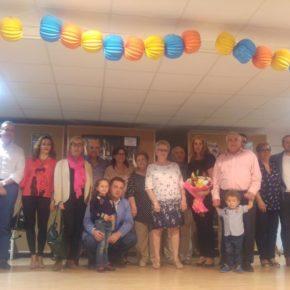 Carmen Picazo celebra con los vecinos del barrio El Pilar sus fiestas