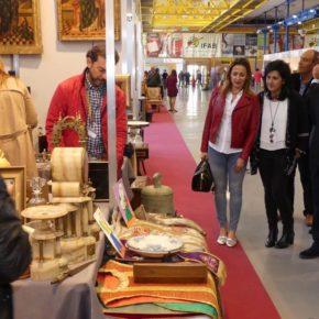 Francis Rubio visita la Feria de Antigüedades
