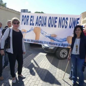 Cs se suma a la manifestación 'Por el agua que nos une' convocada por UPA