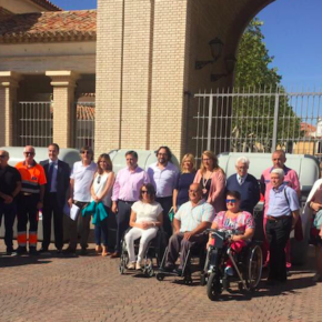 Ciudadanos Albacete presente en la presentación de los nuevos contenedores