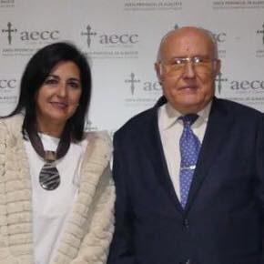 Francis Rubio asiste a la cena benéfica de la Asociación Española Contra el Cáncer en Albacete