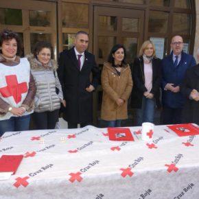 Cs Albacete se suma al ´Día de la Banderita' de Cruz Roja