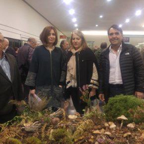 Arturo Gotor asiste a la inauguración de la exposición micológica 'No todas son iguales'