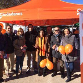 Ciudadanos traslada su carpa informativa hasta Aguas Nuevas