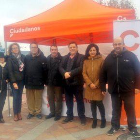 Ciudadanos traslada su carpa informativa hasta La Roda