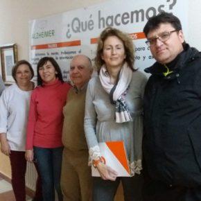 Ciudadanos celebra una reunión con la Asociación de Alzheimer de La Roda