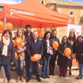 Gran acogida de la Carpa Ciudadana en Tarazona