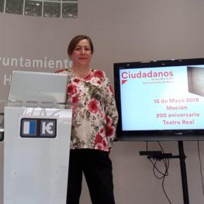 Ciudadanos plantea instalar en Hellín una pantalla para ver en directo una ópera por el 200 aniversario del Teatro Real de Madrid