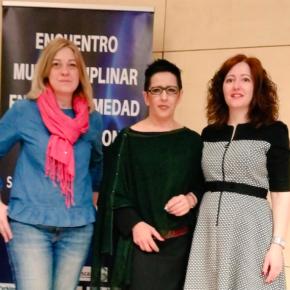 Carmen Picazo ha asistido al Encuentro multidisciplinar en la enfermedad del Parkinson