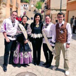 Francis Rubio ha acudido a Almansa para disfrutar de sus Fiestas Mayores