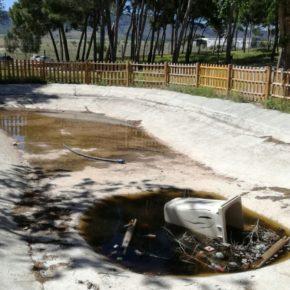 Ciudadanos denuncia el estado de abandono del Parque de la Granja de Tobarra