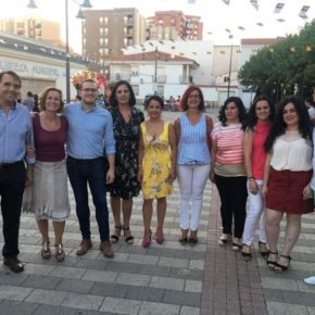 Arturo Gotor y Carmen Picazo celebran las fiestas de los barrios Vereda y Carretas-Huerta de Marzo