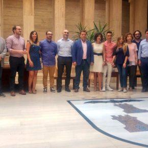 Carmen Picazo asiste a la presentación de los 'Manchegos de Feria 2018'