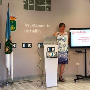 Ciudadanos pide al Gobierno que garantice las conexiones ferroviarias de Hellín con Albacete, Murcia y Madrid