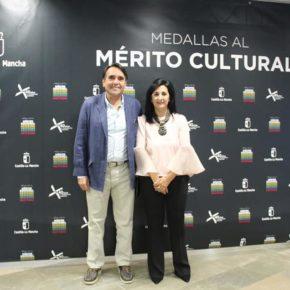 """Arturo Gotor elogia a los premiados con las medallas al Mérito Cultural de Castilla-La Mancha como """"ejemplos para el conjunto de la sociedad"""""""