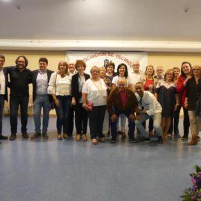 Francis Rubio asiste a las fiestas del barrio de Franciscanos