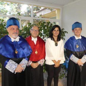 Francis Rubio presente en el acto de apertura del nuevo curso académico de la UNED