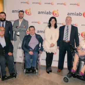 Francis Rubio asiste a los premios de Inclusión Social del grupo Amiab