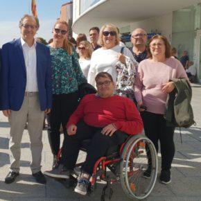 Ciudadanos Hellín muestra su apoyo a asociaciones y usuarios en el Día de la Discapacidad