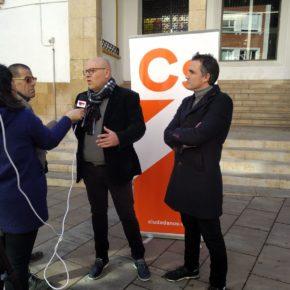 Ciudadanos Almansa denuncia la falta de compromiso del Ayuntamiento con el comercio local