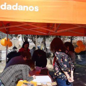 Ciudadanos despierta la ilusión y confianza de los vecinos de Robledo ante las elecciones de mayo