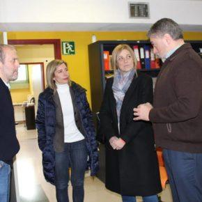 Arteaga y Picazo visitan el CRMF